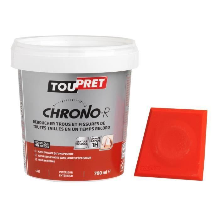 TOUPRET Enduit pâte Chrono-R avec spatule incluse 700 ml