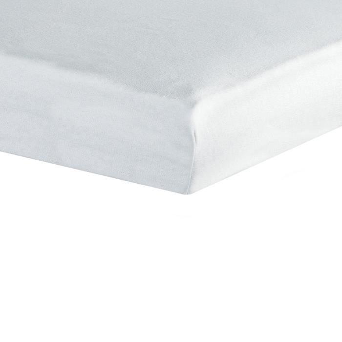 TROIS KILOS SEPT Drap housse - 40x80 cm - Blanc