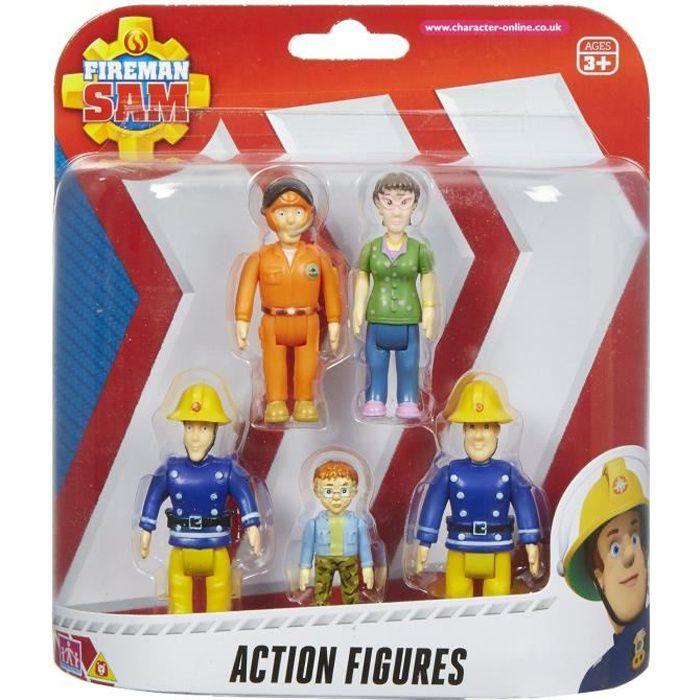 Sam le pompier figurines pack de 5 achat vente - Sam le pompier personnages ...