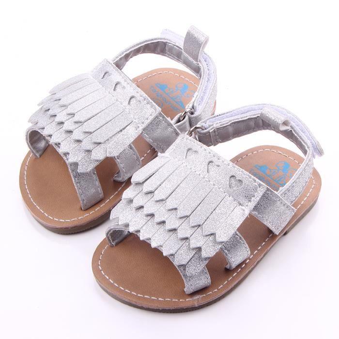 EOZY Sandale Chaussure Bébé Enfant Marche Premier Pas Nouveau-né (0-1an) Été Plage Antidérapant