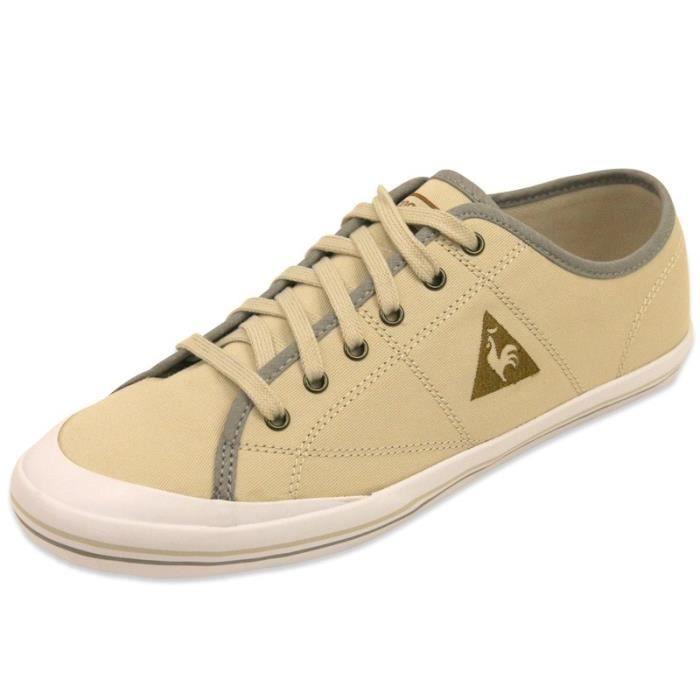 34a98c3aff06 ... Homme Le Coq Sportif. BASKET GRANDVILLE TWILL CVS TECH NYLON M BEI -  Chaussures