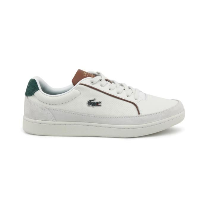 Lacoste - Sneakers suédées Setplay - Blanc