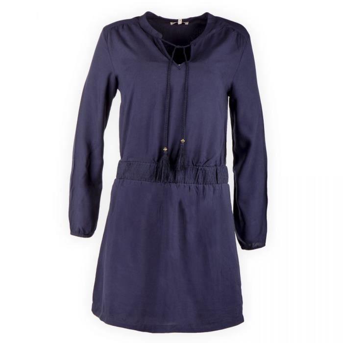 97de46174a8 Robe bleu marine femme Best Mountain Bleu Bleu - Achat   Vente robe ...