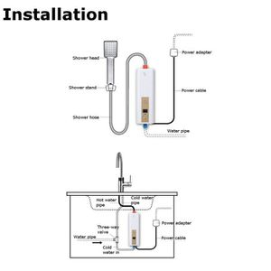 Chauffe eau sous evier achat vente chauffe eau sous - Chauffe eau electrique cuisine ...