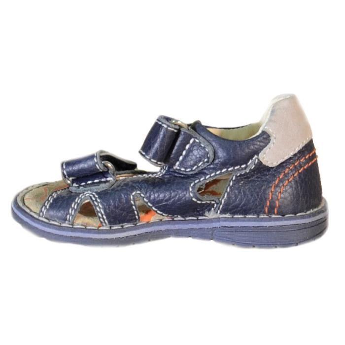 Primigi Sandales Pour Garçon Bleu Cuir 81261