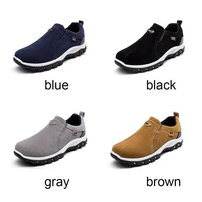 XZ871C6XZ871C6Vente chaude Hommes Chaussures Casual Respirant Outdoor Mocassins Slip-on Chaussures plates iFr05SlI