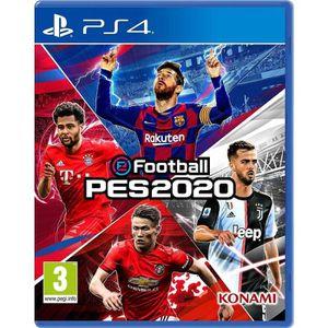 JEU PS4 eFootball PES 2020 Jeu PS4