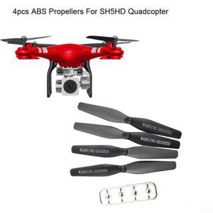 DRONE 4pcs ABS Hélices Accessoires Pour HR SH5HD RC Quad