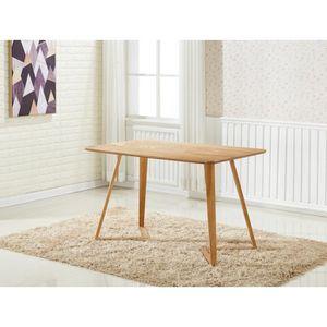 TABLE À MANGER COMPLÈTE Halo rectangulaire Table de salle à manger design