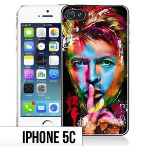 COQUE - BUMPER Coque iPhone 5C David Bowie - Multicolore