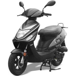 SCOOTER Scooter Roma 4T - Noir - sans montage et mise en r