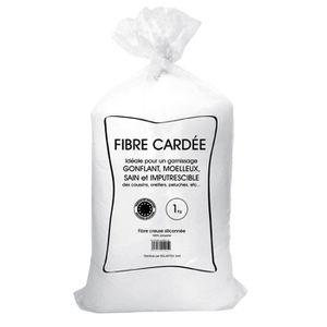 OUATE Balle de fibre - Anti-acarien - 1 kg