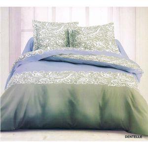 Parure de lit 4 pieces 160x200 achat vente parure de lit 4 pieces 160x200 pas cher cdiscount - Parure de lit en flanelle 2 personnes ...