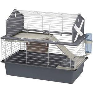 COUVRE-CAGE - PERCHOIR Ferplast Spacieuse cage pour lapins BARN 80 pour p