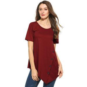 T-SHIRT T-Shirt Top Femmes nouveau Casual manches courtes