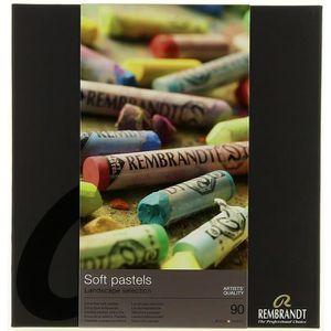 PASTELS - CRAIE D'ART Rembrandt Coffret garni 90 pastels selection paysa