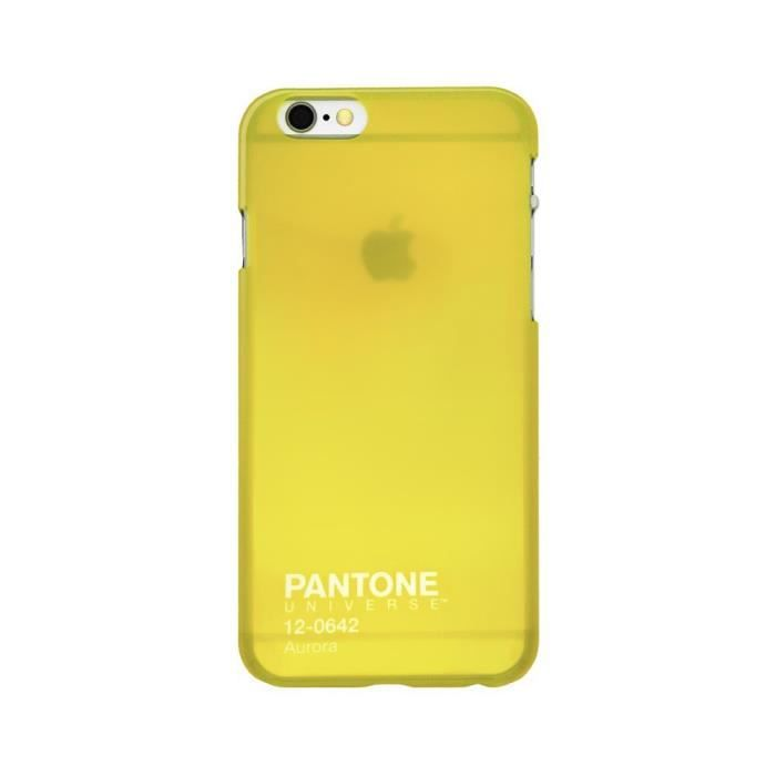 PANTONE Coque iPhone 6 - Jaune