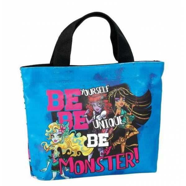 MONSTER HIGH - MINI SAC CABAS BE A MONSTER - Achat   Vente MONSTER ... a4433a69836
