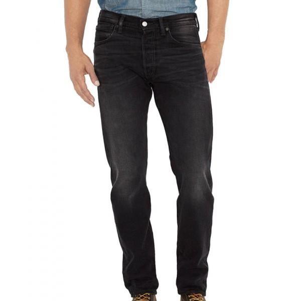 JEANS Jeans Levis 501 coupe droite noir Denim