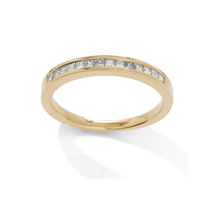 Jewelco LondonOr Jaune 18k diamant éternité éternité bague