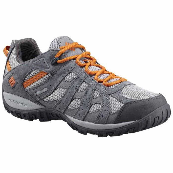 Chaussures homme Multisports Columbia Redmond Waterproof Gris Gris ... ae63f172d133