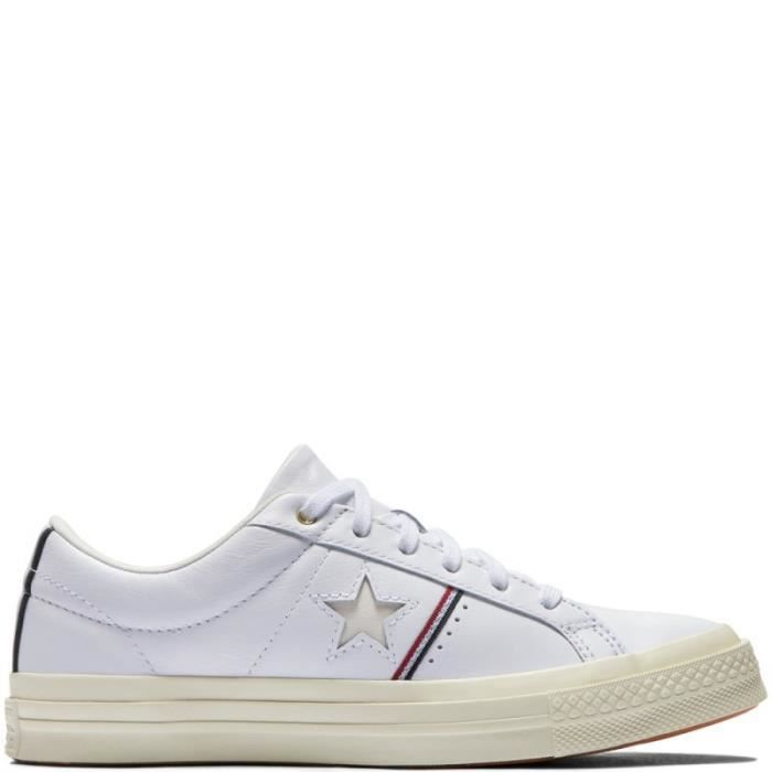 BASKET - converse one star piping