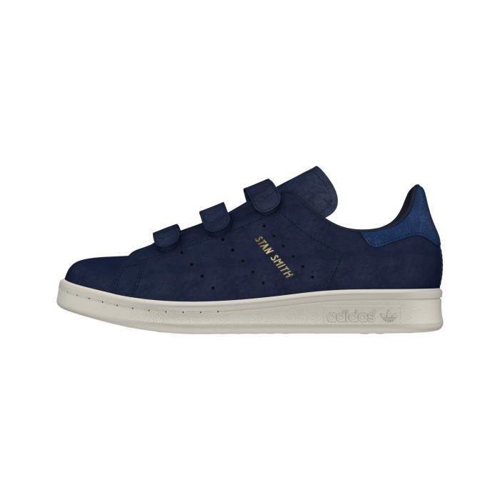 sélectionner pour l'original valeur formidable chaussures décontractées Basket ADIDAS STAN SMITH CF W - CQ2789 - AGE - ADULTE, COULEUR - BLEU,  GENRE - FEMME, TAILLE - 40