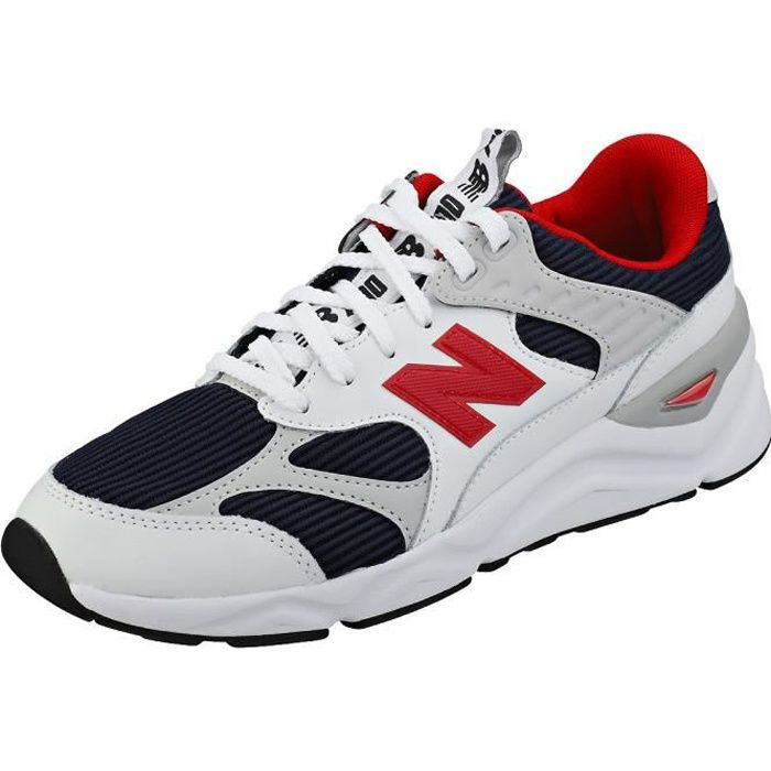 new balance hommes blanche et rouge