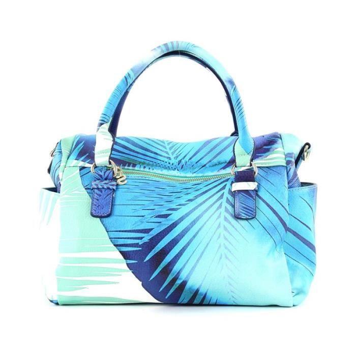Bandoulière U Blue Sac Loverty Femme Palms Bleu À Desigual qH7wv1X