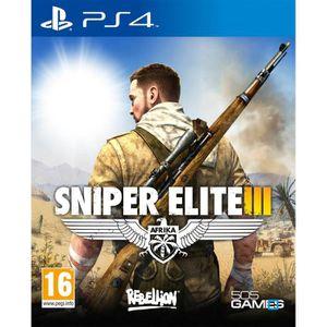 JEU PS4 Sniper Elite III Jeu PS4