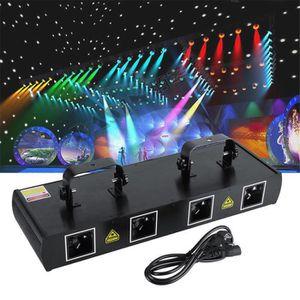 LAMPE ET SPOT DE SCÈNE Lyres de Scène Éffet de Laser 460mW 7CH DMX512 Pou