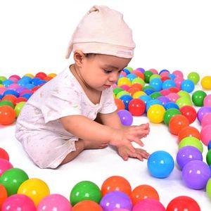 BALLE - BOULE - BALLON 50pcs Boules Océan Plastique Balles Colorées De Pi