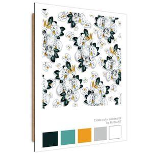 TABLEAU - TOILE Feeby Panneau décoratif Impression moderne Tableau