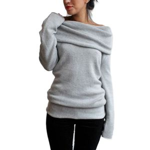 PULL Pull Femmes Fuite Manches Longues Epaule Sexy S...