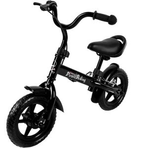 VÉLO ENFANT Vélo enfant Noir - Selle et guidon réglable - Bicy