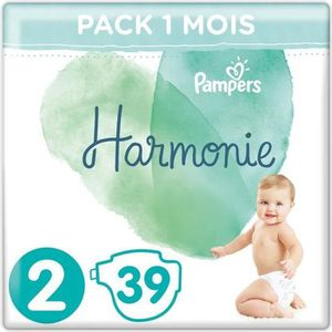 COUCHE Pampers Harmonie T2 4-8kg 39 couches