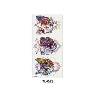 TATOO - BIJOU DE CORPS 1101108 Cool Dream Catcher Rose Fleur Autocollant