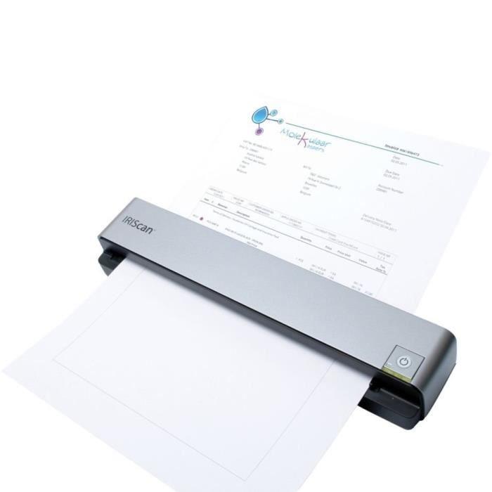 Scanner couleur portable - Ultra compact - Numérisation sans PC - Alimentation par batterie - Mémoire 512 Mo intégré extensible - Format A4/lettre.SCANNER
