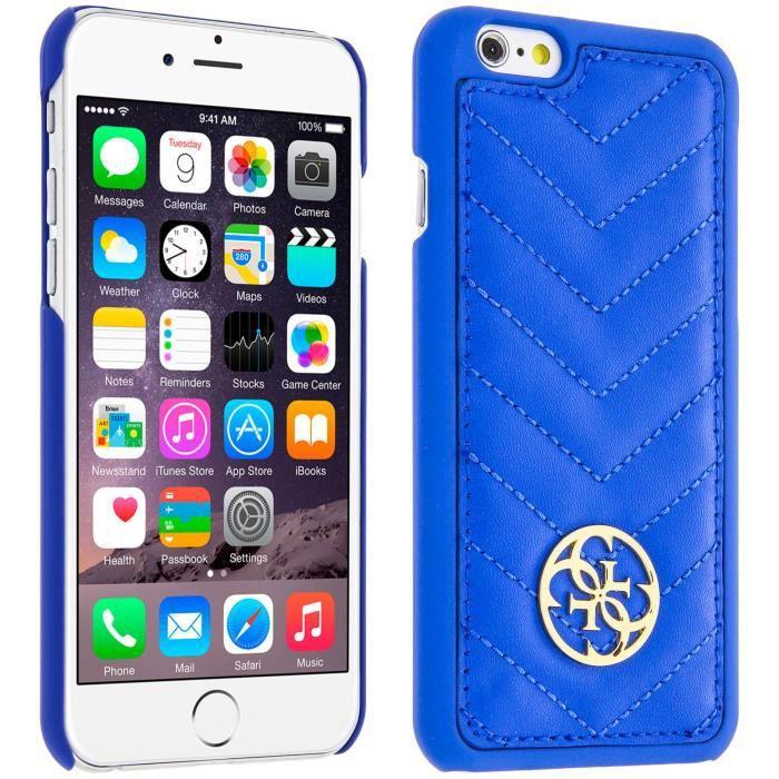 GUESS Coque Héritage - Pour iPhone 6 / 6S - Bleue