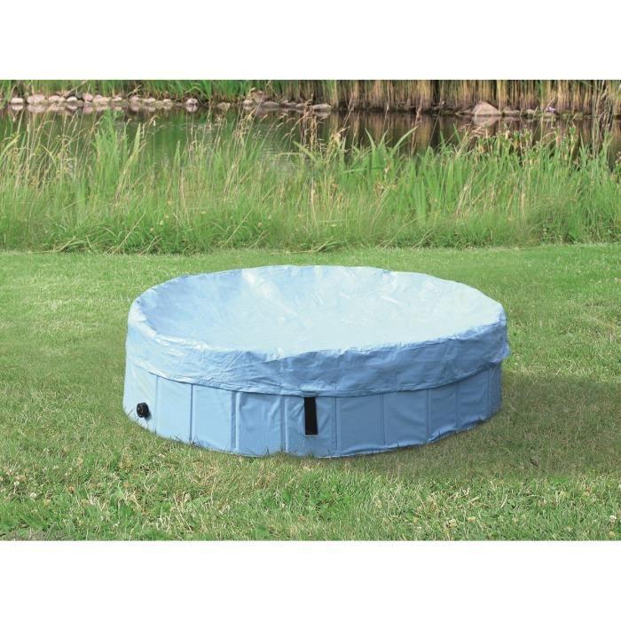 TRIXIE Protection de piscine - Ø 80 cm - Bleu clair - Pour chien