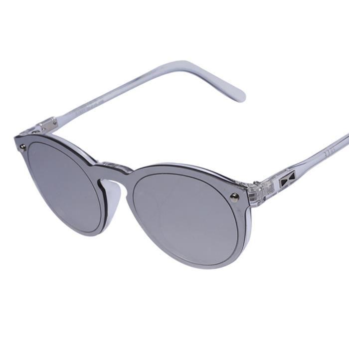 marque en Frameless sunglasses de Fashion Blanc de homme et femme ronde mixte Luxe Lunettes de soleil Y6wqTPA