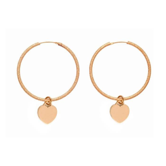Fore3rg - Boucles Doreille Femme - Plaqué Or YDTB9
