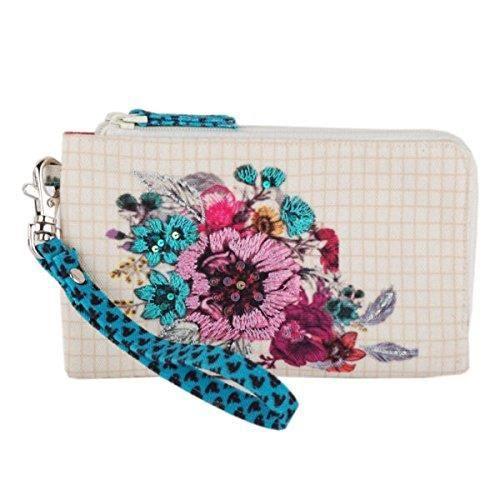 sac à main de marche multicolore brodé et embelli pour femme? B8P64