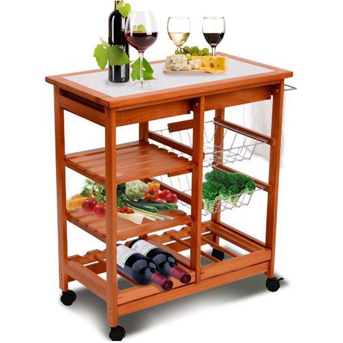 Meuble rangement cuisine chariot de service des achat for Meuble de rangement pour petite cuisine