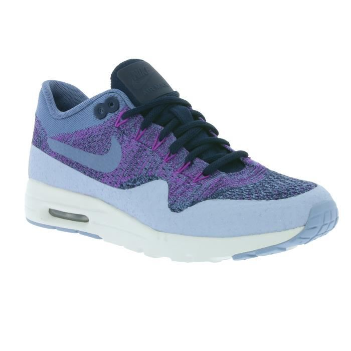 NIKE W Air Max 1 Ultra Flyknit Femmes Sneaker Violet 859517 400 ... 7a58ade9a619