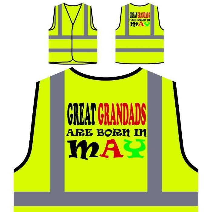 Sont les Non Personnalisée Jaune À Personna Protection Visibilité Inscrits Veste Grandads Haute De Grands 0UqPvw4xgH