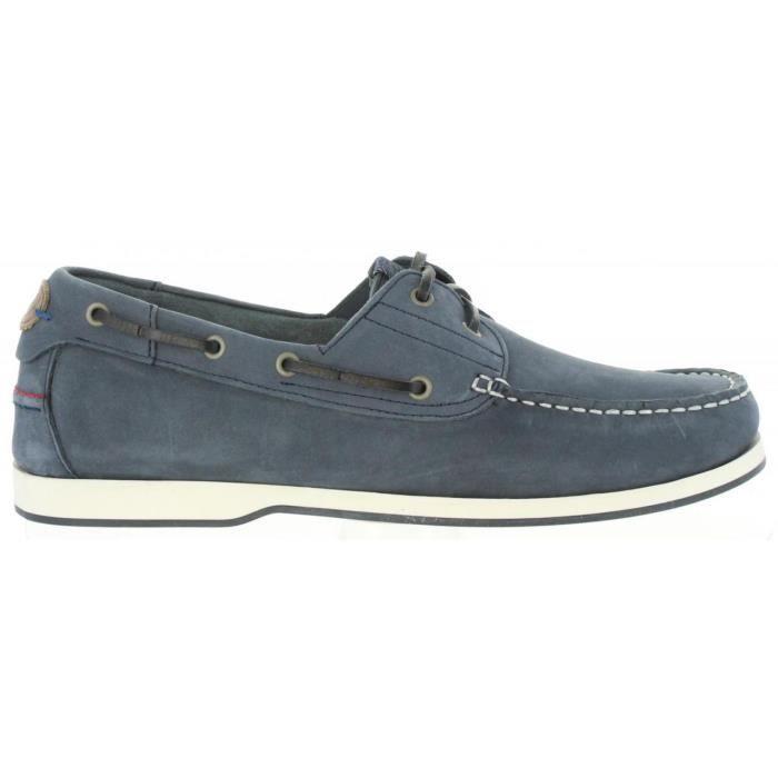 Chaussures bateau pour Homme WRANGLER WM171121 OCEAN jeans RlHHoifswr