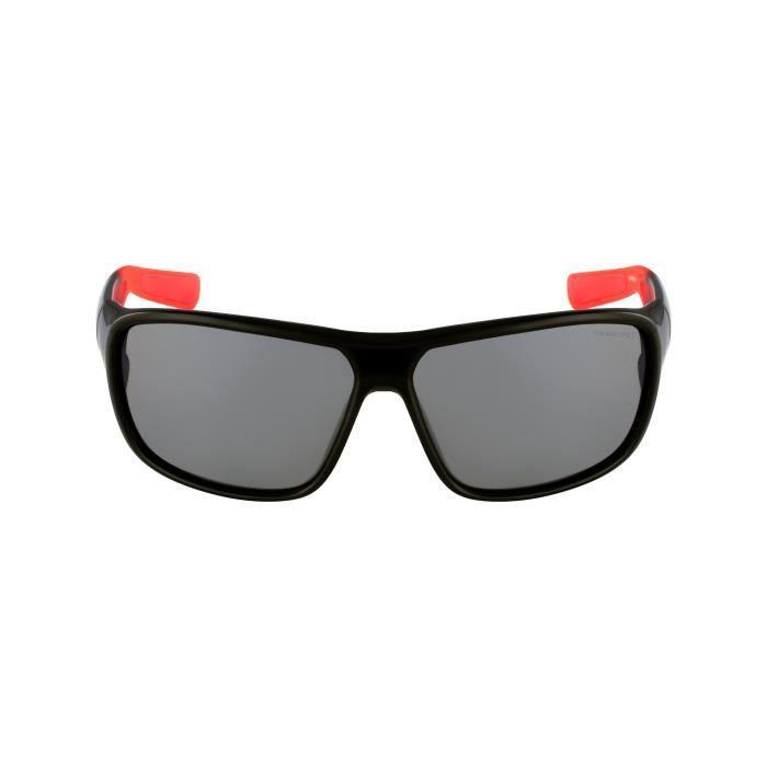 Lunettes de soleil Nike EV0781 Mercurial 8.0-6 Noir brillant - Rouge