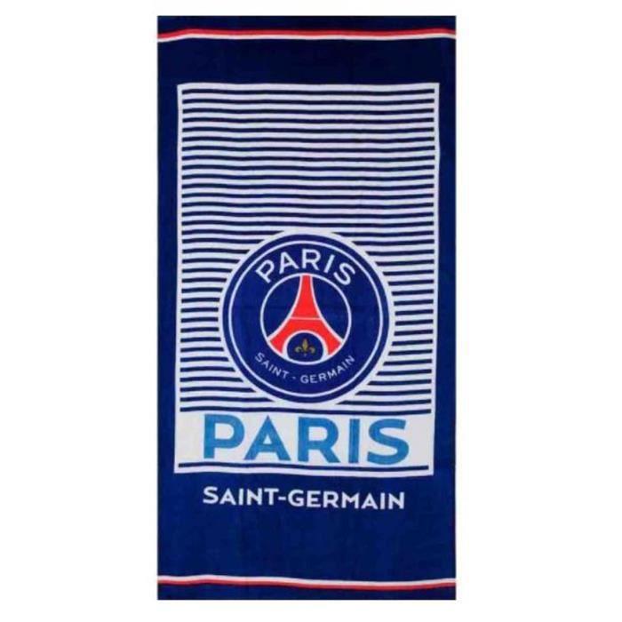 6ab4a937f88f72 PSG- Serviette - Drap de bain plage Paris saint germain club neymar cavani  70X140 cm
