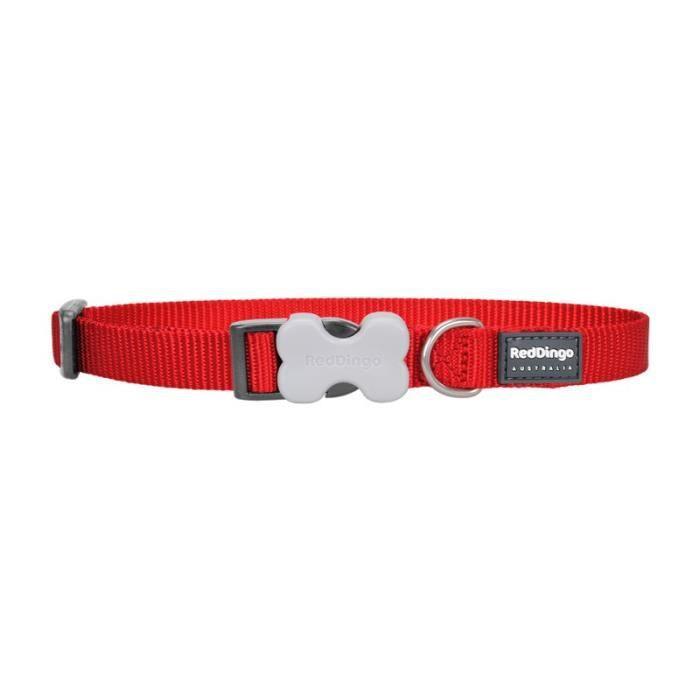Red Dingo - Collier Pour Chien M Rouge